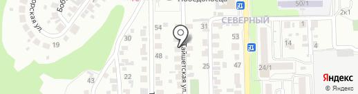 ИнстаДвижение на карте Новосибирска