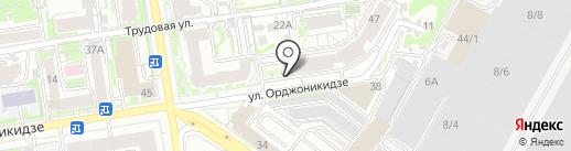 РБлайн на карте Новосибирска