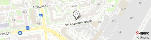 Hoverbot на карте Новосибирска