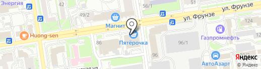ЗдравStore на карте Новосибирска