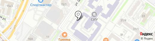 Print на карте Новосибирска