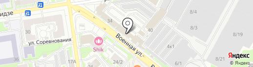 СОВРЕМЕННЫЙ ДОМ на карте Новосибирска