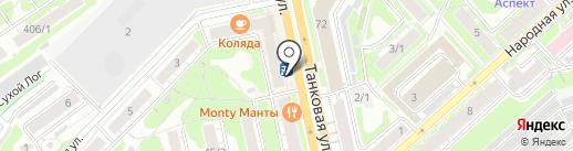 Klevaya-ribalka.ru на карте Новосибирска