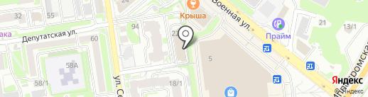 Альфа-БМ на карте Новосибирска