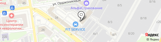 БАТТЕРФЛЯЙ на карте Новосибирска