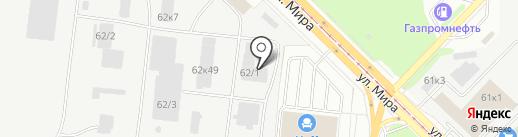 ТД НСК на карте Новосибирска