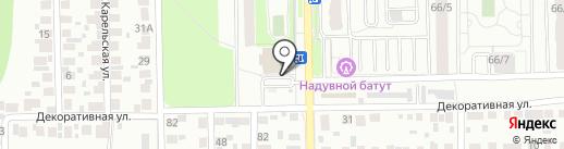 Империя АКС на карте Новосибирска