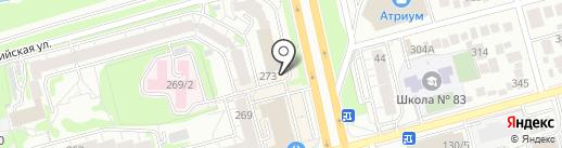 Магазин конструкторов на карте Новосибирска