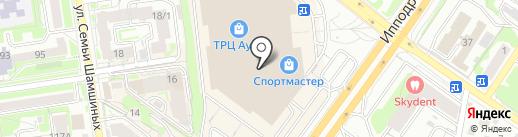 Tsurpal на карте Новосибирска