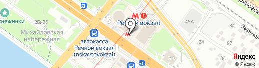 БукетБар на карте Новосибирска