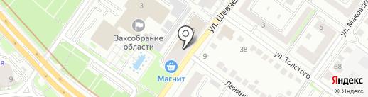 Крестьянское подворье на карте Новосибирска