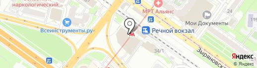 iFetel на карте Новосибирска