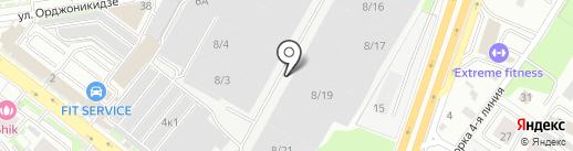 Мастерская по ремонту и замене автостекол на карте Новосибирска