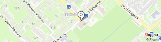 Кега на карте Новосибирска