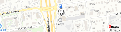 СТРОЙПАРТНЕР на карте Новосибирска