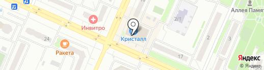 Мастерская по ремонту ювелирный изделий на карте Новосибирска