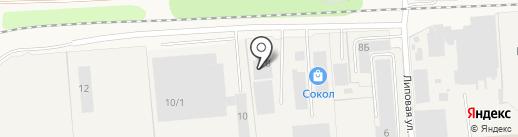 Азбука Тентов на карте Элитного