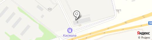 ТК МАСТЕР СИБИРЬ на карте Озерного