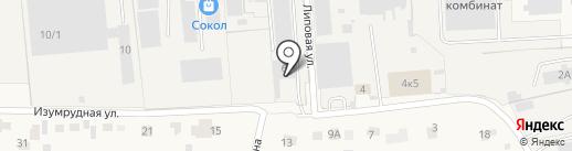 Сибирь-МАЗ-Сервис, ЗАО на карте Элитного