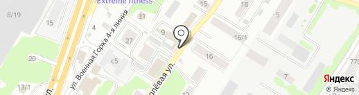 Ремонтно-отделочная компания на карте Новосибирска