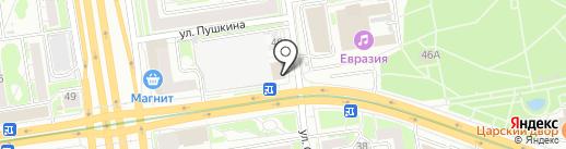 Фотолэнд на карте Новосибирска