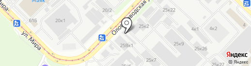 Надёжные люди на карте Новосибирска