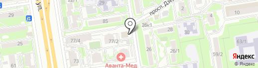 Магнит Косметик на карте Новосибирска