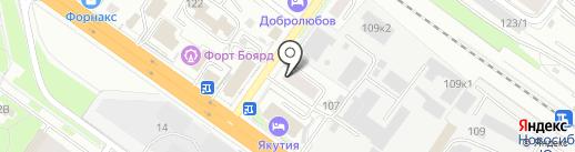Альянс грузчиков на карте Новосибирска