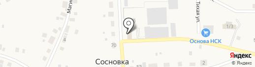 Буровое оборудование и инструмент на карте Сосновки