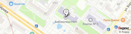 Конференц-зал на карте Новосибирска