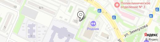 МЕГАПОЛИС на карте Новосибирска