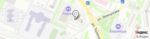 Илья Мед на карте Новосибирска
