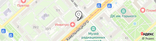 Бегом к нам на карте Новосибирска