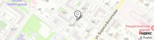 Бочонок на карте Новосибирска