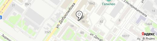 Ника на карте Новосибирска