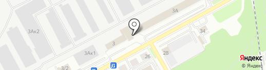Банкомат, Газпромбанк на карте Новосибирска