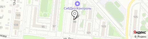ДОКТОР ШАНС на карте Новосибирска