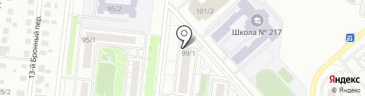 Лимпопо на карте Новосибирска