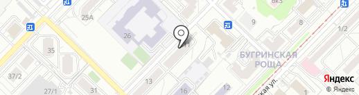 Ресурсный центр общественных инициатив Кировского района на карте Новосибирска