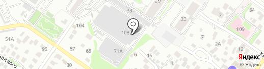 fitclubservis на карте Новосибирска