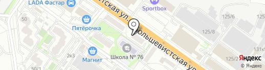 Tivoli на карте Новосибирска