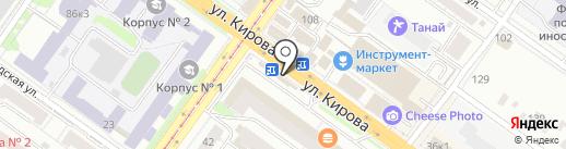 ДеньгиАктив на карте Новосибирска