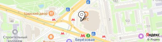 МИНЛЕГПРОМ на карте Новосибирска