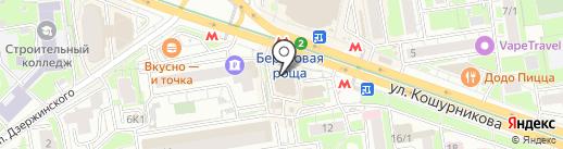 TOY54.RU на карте Новосибирска