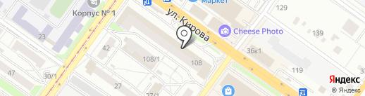 KuBBiA на карте Новосибирска