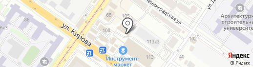 МонтажСибСервис на карте Новосибирска
