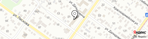 Норма на карте Новосибирска