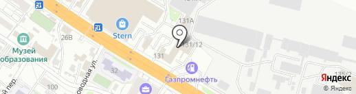 Лавалет на карте Новосибирска