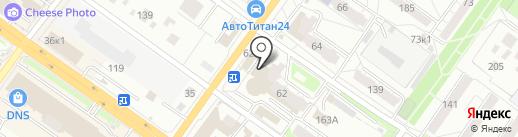 Радиосвет на карте Новосибирска