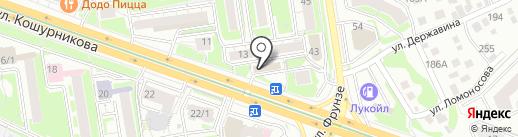 АртКом на карте Новосибирска